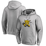 Wichita State Shockers Fanatics Branded Big & Tall Primary Team Logo Pullover Hoodie - Heathered Gray