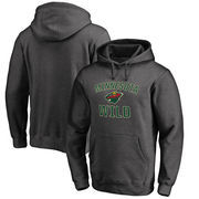 Minnesota Wild Big & Tall Victory Arch Pullover Hoodie - Heather Gray