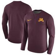 Minnesota Golden Gophers Nike 2017 Coaches Sideline Modern Pullover Sweatshirt - Maroon
