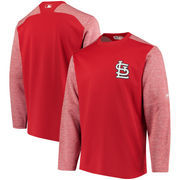 St. Louis Cardinals Majestic Authentic Collection On-Field Tech Fleece Pullover Sweatshirt - Red