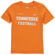 Tennessee Volunteers Nike Youth Core Facility T-Shirt - Tennessee Orange