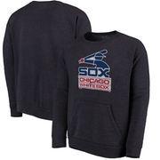 Chicago White Sox Majestic Threads Cooperstown Collection Tri-Blend Pocket Fleece Sweatshirt - Navy