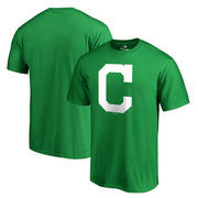 Cleveland Indians Fanatics Branded St. Patrick's Day T-Shirt - Green