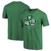 New York Mets Fanatics Branded St. Patrick's Day Paddy's Pride Tri-Blend T-Shirt - Green