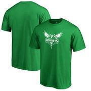 Charlotte Hornets Fanatics Branded St. Patrick's Day White Logo T-Shirt - Kelly Green