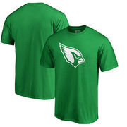 Arizona Cardinals NFL Pro Line by Fanatics Branded Big & Tall St. Patrick's Day White Logo T-Shirt - Green