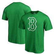 Boston Red Sox Fanatics Branded Big & Tall St. Patrick's Day White Logo T-Shirt - Green
