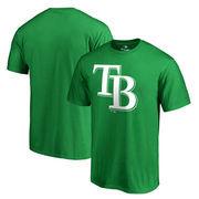 Tampa Bay Rays Fanatics Branded Big & Tall St. Patrick's Day White Logo T-Shirt - Green