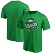 Arkansas Razorbacks Fanatics Branded Big & Tall St. Patrick's Day Paddy's Pride T-Shirt - Green