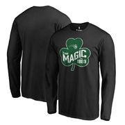 Orlando Magic Fanatics Branded Big & Tall St. Patrick's Day Paddy's Pride Long Sleeve T-Shirt - Black