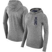 North Carolina Tar Heels Nike Women's Dry Element Performance Quarter-Zip Pullover Hoodie - Heathered Charcoal