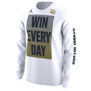 Marquette Golden Eagles Nike Basketball Mentality Bench Legend Performance Long Sleeve T-Shirt - White