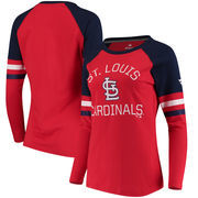St. Louis Cardinals Fanatics Branded Women's Iconic Long Sleeve T-Shirt - Red