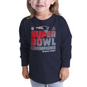 New England Patriots NFL Pro Line by Fanatics Branded Toddler Super Bowl LI Champions Trophy Collection Locker Room Long Sleeve