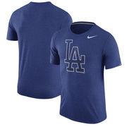 Los Angeles Dodgers Nike Tri-Blend T-Shirt - Heathered Royal