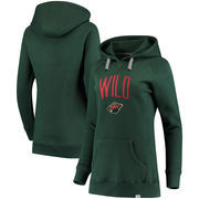 Minnesota Wild Fanatics Branded Women's Indestructible Pullover Hoodie - Green