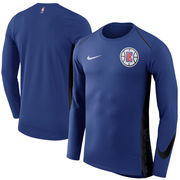 LA Clippers Nike Elite Shooter Performance Long Sleeve T-Shirt – Royal