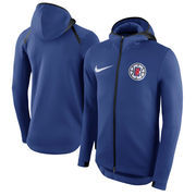 LA Clippers Nike Therma Flex Showtime Full-Zip Hoodie – Blue