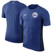 Philadelphia 76ers Nike Elite Shooter Performance T-Shirt – Royal