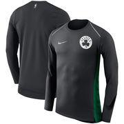 Boston Celtics Nike Holiday HyperElite Dry Shooter Statement Edition Long Sleeve T-Shirt - Black
