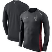 Cleveland Cavaliers Nike Holiday HyperElite Dry Shooter Statement Edition Long Sleeve T-Shirt - Black