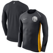 Golden State Warriors Nike Holiday HyperElite Dry Shooter Statement Edition Long Sleeve T-Shirt - Black