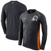 Phoenix Suns Nike Holiday HyperElite Dry Shooter Statement Edition Long Sleeve T-Shirt - Black