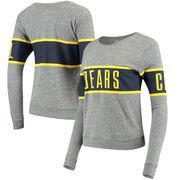 Cal Bears League Women's Intramural Long Sleeve Tri-Blend T-Shirt - Heathered Gray