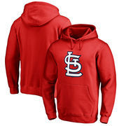 St. Louis Cardinals Fanatics Branded Primary Logo Pullover Hoodie - Red