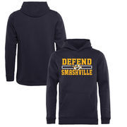 Nashville Predators Fanatics Branded Youth Hometown Collection Defend Pullover Hoodie - Navy
