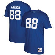 Marvin Harrison Indianapolis Colts Mitchell & Ness Retired Player Name & Number T-Shirt - Royal