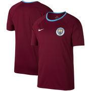 Manchester City Nike Match Performance T-Shirt - Burgundy/Blue