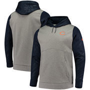 Chicago Bears Under Armour Combine Authentic Novelty Pullover Hoodie - Gray/Navy