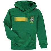 Brazil National Team Youth Legendary Pullover Hoodie - Green