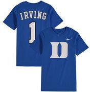 Kyrie Irving #1 Duke Blue Devils Nike Youth Name & Number T-Shirt – Royal