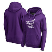 TCU Horned Frogs Fanatics Branded Women's Plus Sizes Team Mom Pullover Hoodie - Purple