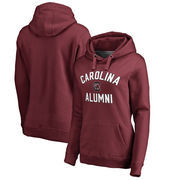 South Carolina Gamecocks Fanatics Branded Women's Plus Sizes Team Alumni Pullover Hoodie - Maroon