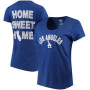 Los Angeles Dodgers '47 Women's Club Scoop Neck T-Shirt - Royal