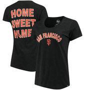 San Francisco Giants '47 Women's Club Scoop Neck T-Shirt - Black