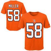 Von Miller Denver Broncos Nike Youth Color Rush Player Pride Name & Number T-Shirt - Orange