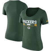 Green Bay Packers Nike Women's Team Scoop T-Shirt - Green