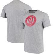 Atlanta United FC adidas Primary Logo Ultimate Jersey Hook T-Shirt - Heathered Gray