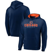 Chicago Bears NFL Pro Line by Fanatics Branded Big & Tall Block Lineup Zone Pullover Hoodie - Navy