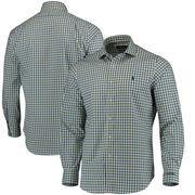 THE PLAYERS Polo Golf Iron Poplin Spread Estate Long Sleeve Button-Up Shirt - Blue