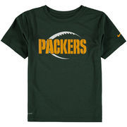 Green Bay Packers Nike Preschool Legend Icon Performance T-Shirt - Green