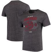 Atlanta United FC adidas Soccer World Tri-Blend T-Shirt - Heathered Black