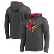 Louisville Cardinals Fanatics Branded Primary Logo Pullover Hoodie - Charcoal