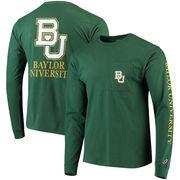 Baylor Bears League Vintage Wash Pocket Long Sleeve T-Shirt – Green