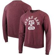 Texas A&M Aggies League Heritage Tri-Blend Sweatshirt - Maroon