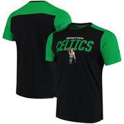 Boston Celtics Fanatics Branded Iconic T-Shirt - Black/Kelly Green